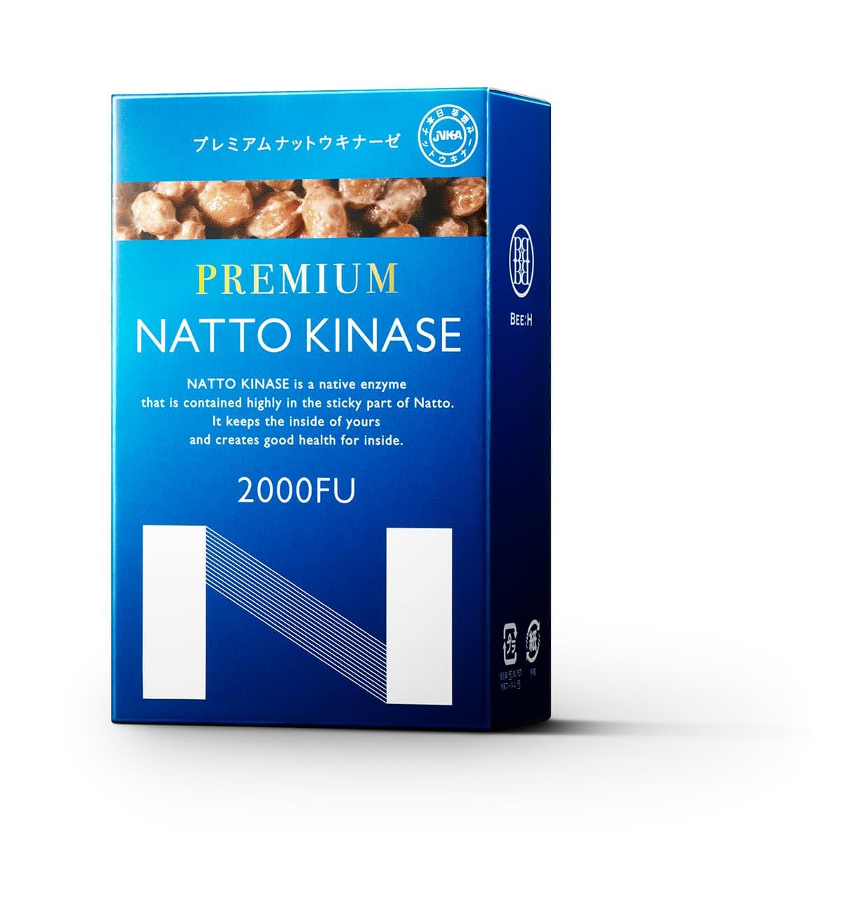 納豆酵素でサラサラ習慣!PREMIUM NATTO KINASE